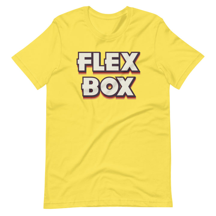 Flexbox Short-Sleeve Unisex T-Shirt