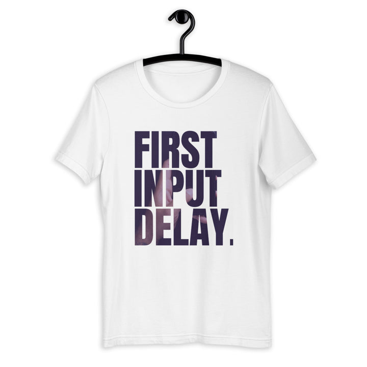 First Input Delay Short-Sleeve Unisex T-Shirt