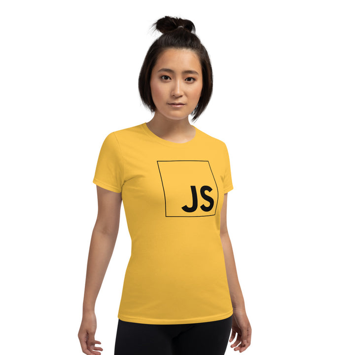 JavaScript Women's short sleeve t-shirt
