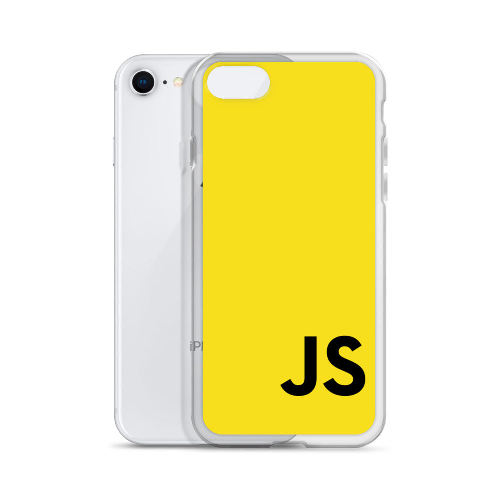 JavaScript (Yellow) iPhone Case