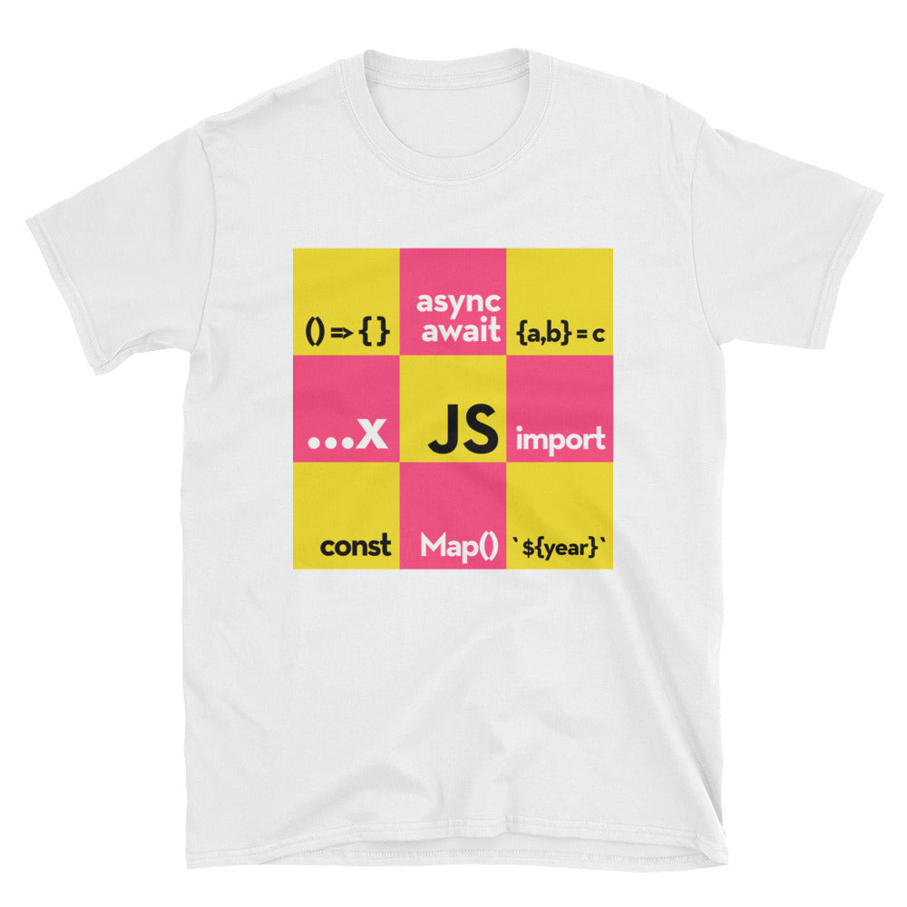 Modern JavaScript Short-Sleeve Unisex T-Shirt