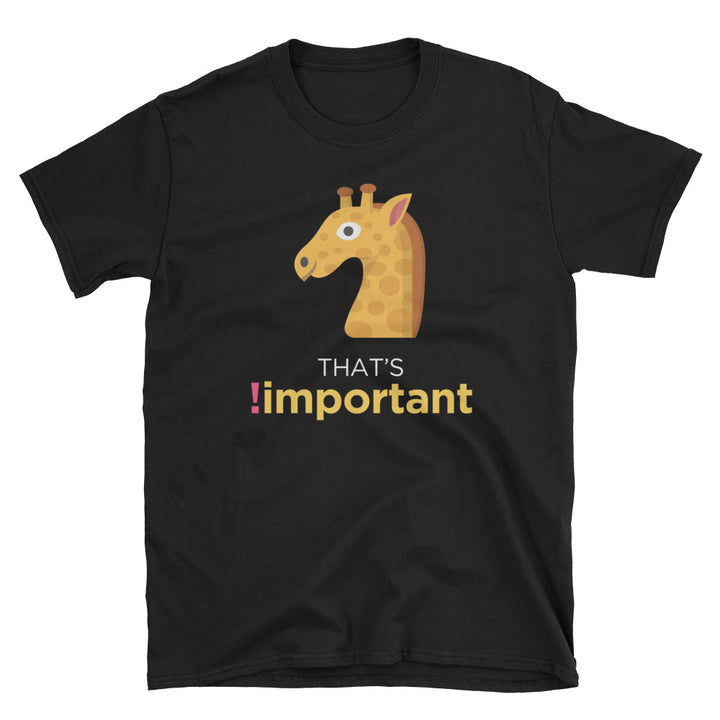 That's !important CSS Short-Sleeve Unisex T-Shirt