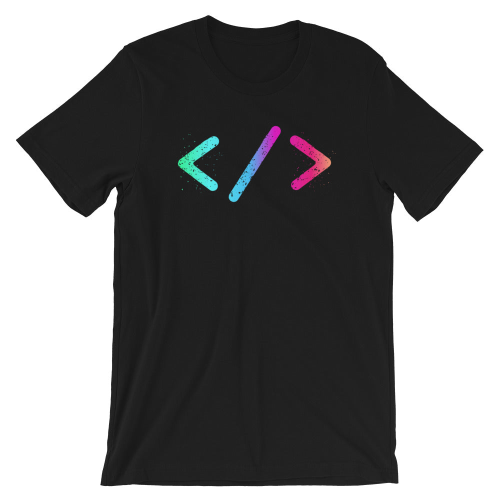 Tags Short-Sleeve Unisex T-Shirt