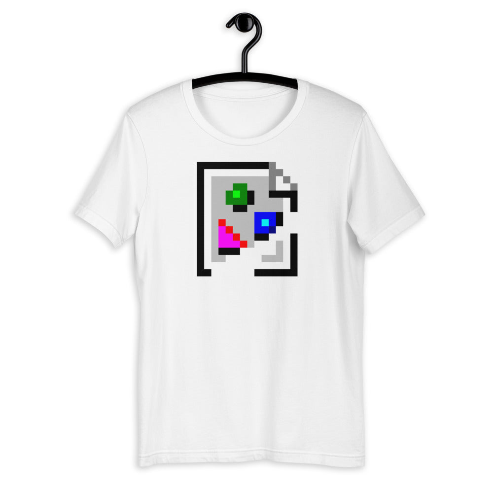 Broken Image Short-Sleeve Unisex T-Shirt