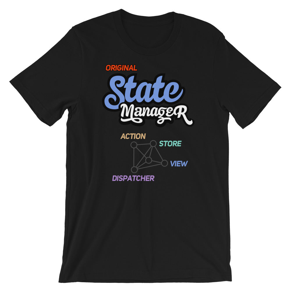 Original State Manager Short-Sleeve Unisex T-Shirt