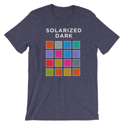 Solarized Dark Short-Sleeve Unisex T-Shirt