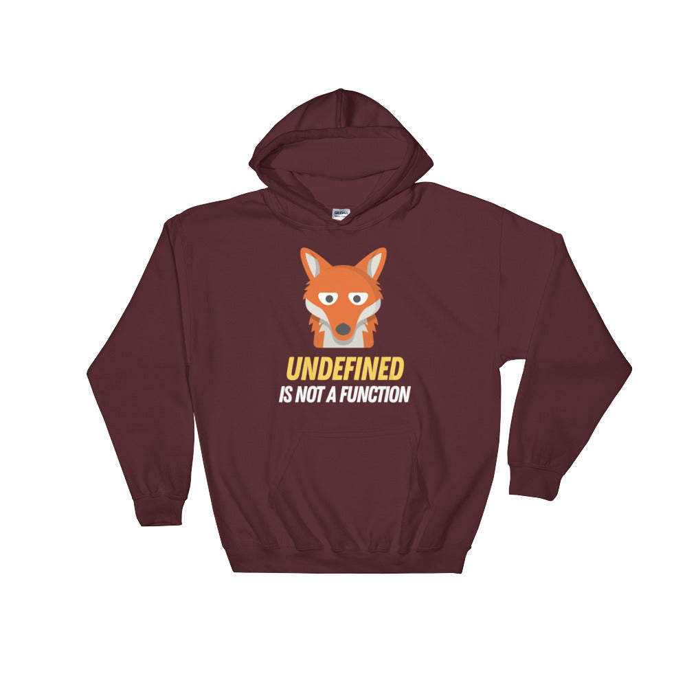 Undefined Is Not A Function Hooded Sweatshirt