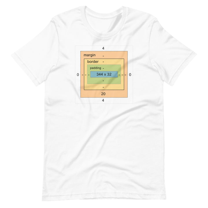 DevTools Box Model Short-Sleeve Unisex T-Shirt