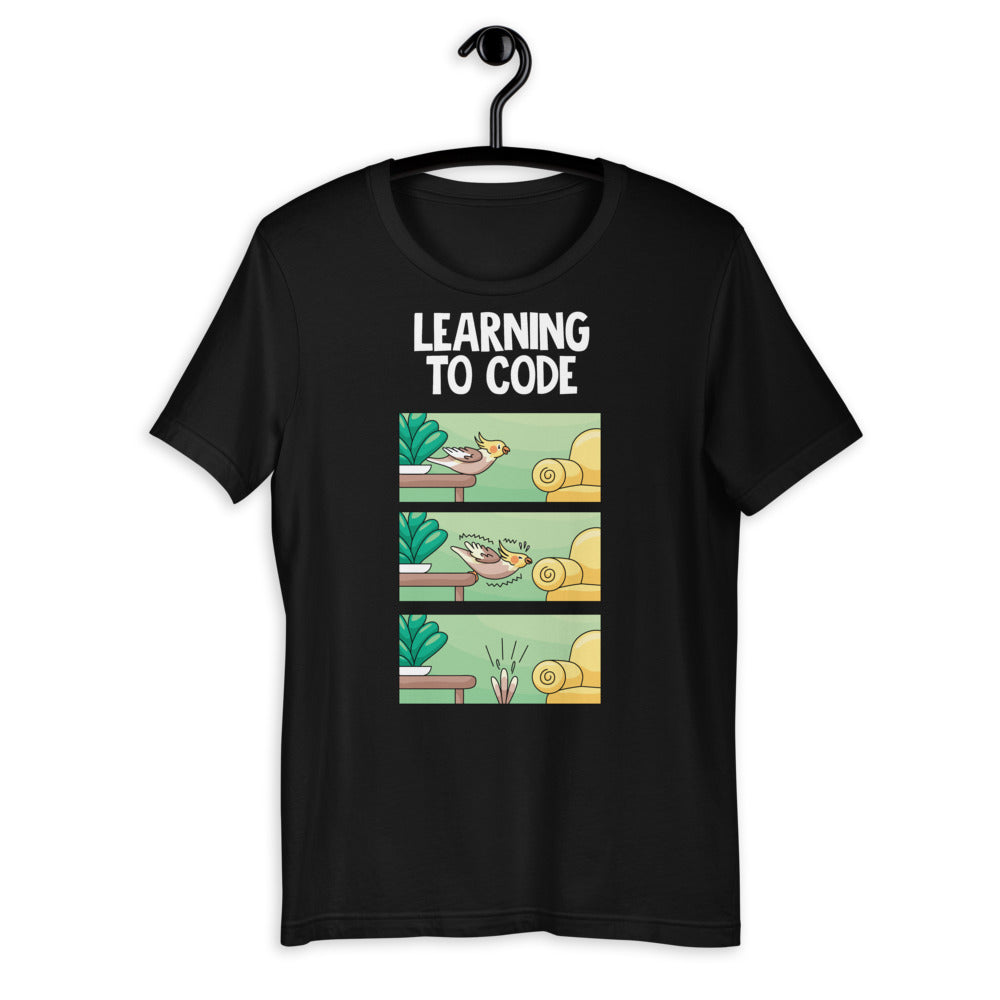 Learning To Code Short-Sleeve Unisex T-Shirt