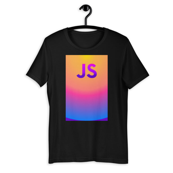 JavaScript Glow Up Short-Sleeve Unisex T-Shirt