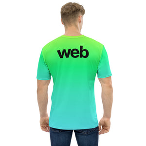 Green Web All-Over T-shirt