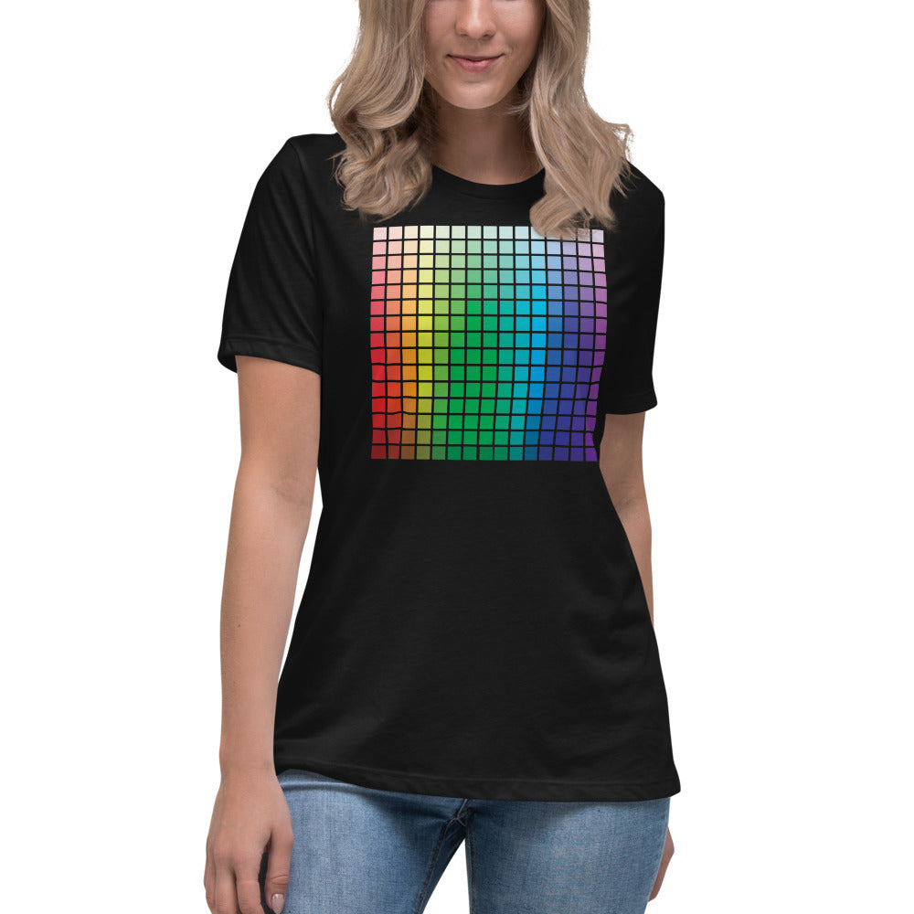 Color Palette Women's Relaxed Fit T-Shirt