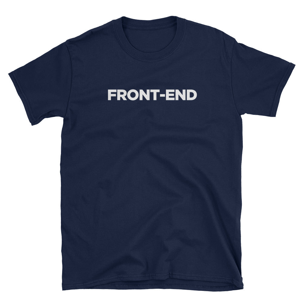 Front-end/Back-end Short-Sleeve Unisex T-Shirt