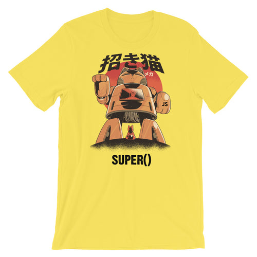 Super() Mecha Short-Sleeve Unisex T-Shirt