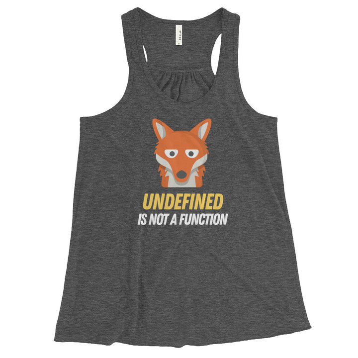 Undefined Is Not A Function Women's Racerback Tank