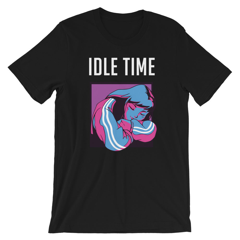 Idle Time Short-Sleeve Unisex T-Shirt