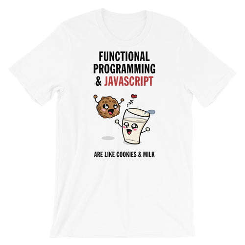 Functional Programming And JavaScript Short-Sleeve Unisex T-Shirt