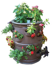 "Patio Pocket Planter ""Chocolate Brown"" Color"