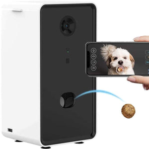 Smart Camera Dog Treat Dispenser by PresentPet