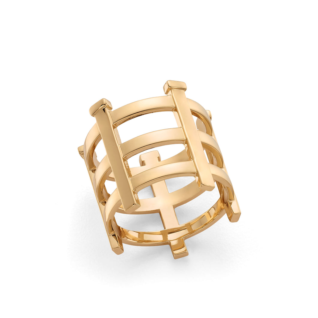 Hattie Banks Fence Ring