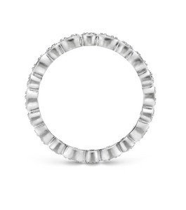 Marquise X Round Band