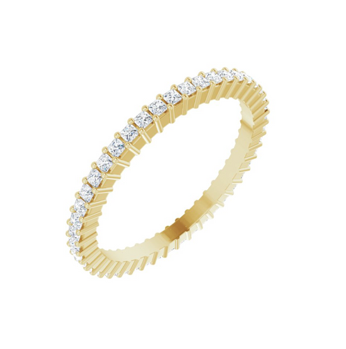 Small Square Eternity Band