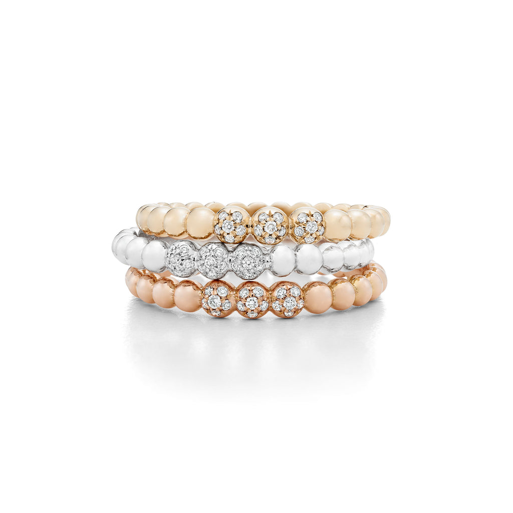 Hattie Banks Stacking Bubble Rings