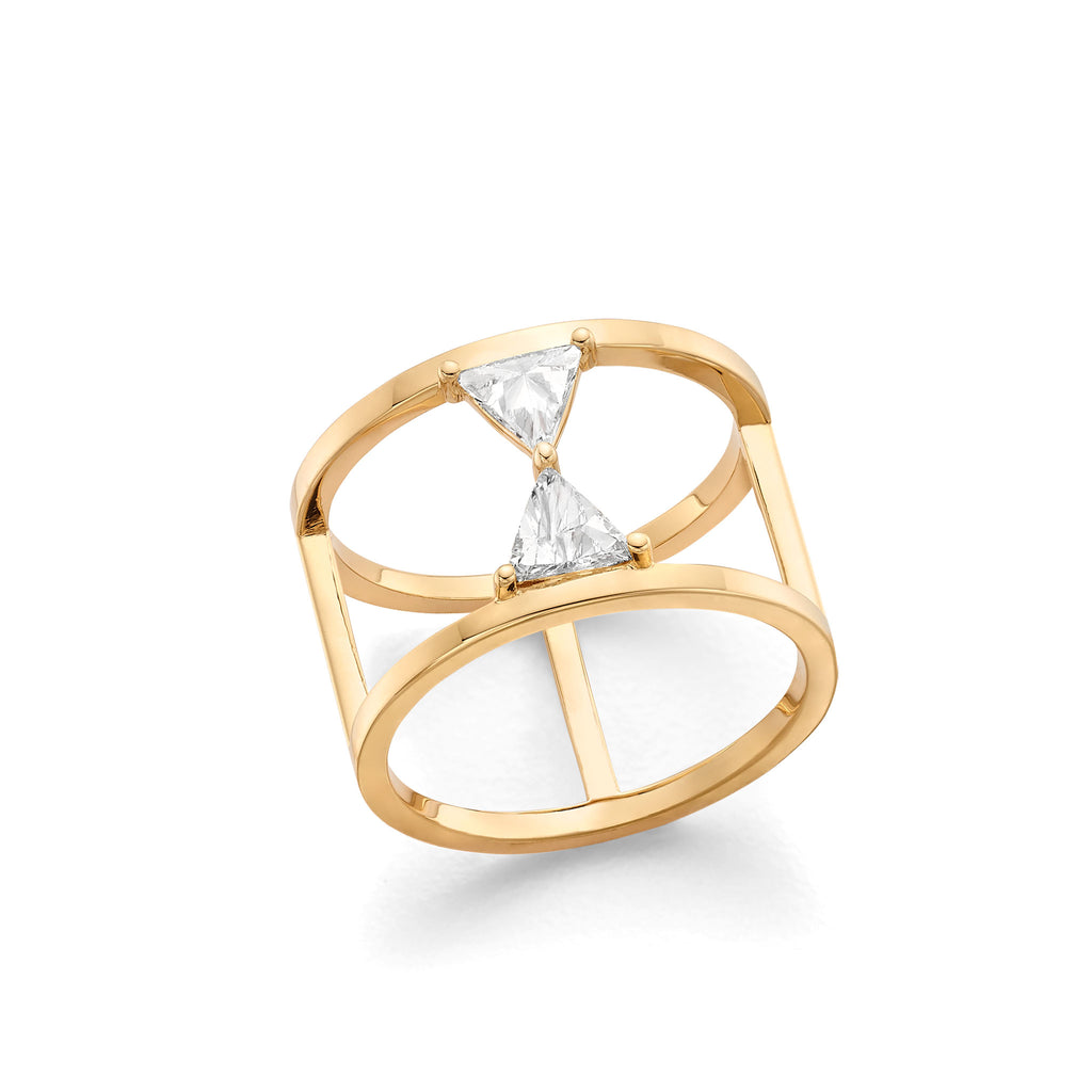 Hattie Banks Hourglass Ring