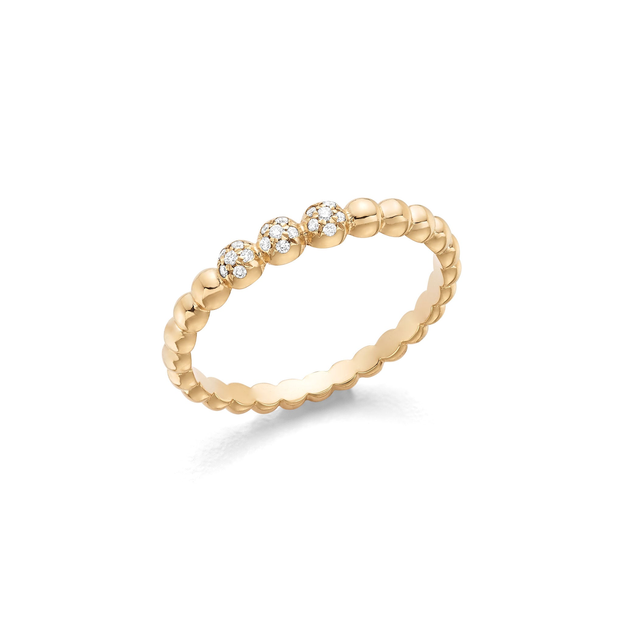 Yellow Gold Bubble Ring Hattie Banks