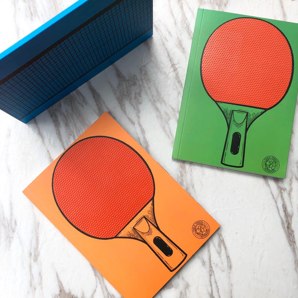Ping Pong NoteBook Set