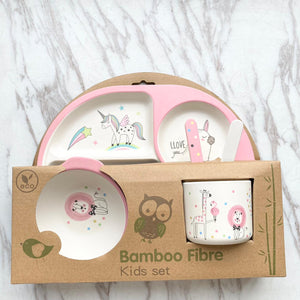 Bamboo Kids Set - Unicorn