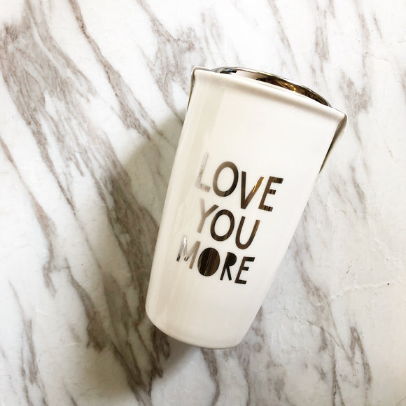 Ceramic To-Go Quote Mug