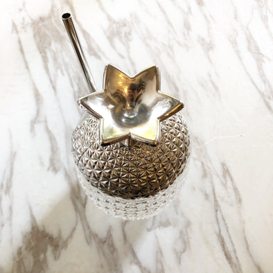 Metallic Pineapple Cup
