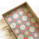 Wooden Spanish Tile Trays