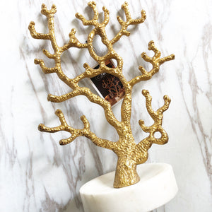 Coral Gold Jewelry Hanger