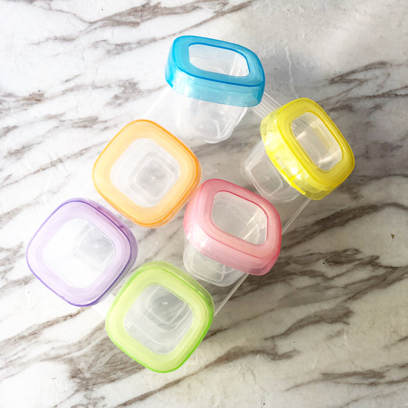 Baby Food Tupperwares