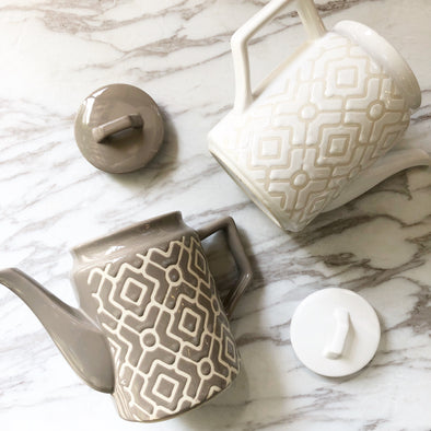 Geometrical Tea Pots