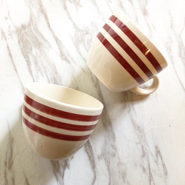 Red Stripe Coffee Mug