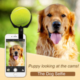 Pet Selfie Stick Clip with Ball