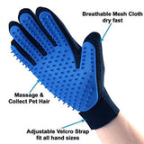Handtouch® Pet Grooming Deshedding Brush Glove