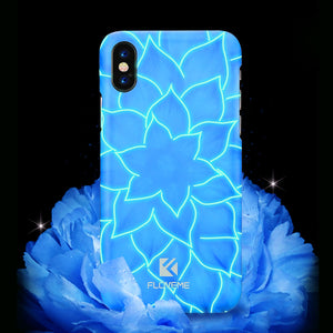 Luminous Lotus Phone Case for iPhone