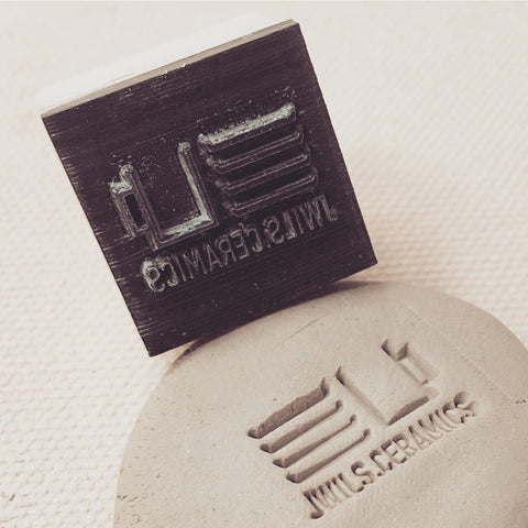 JWILS Ceramics Shop Stamp