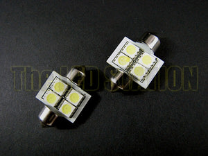 SMD LED Interior Front Map Light Bulbs Infiniti G35 Coupe 03-06