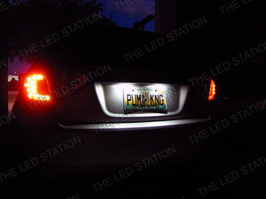 08-12 Impreza WRX 5 Door White LED License Plate Lights