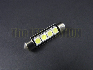 42mm Festoon 4-SMD LED Bulb White 211-2 / 212-2 / 214-2 (single)