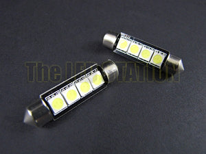 42mm Festoon 4-SMD LED Bulb White 211-2 / 212-2 / 214-2 (pair)