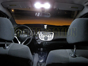 SMD LED Interior Light Kit (Map, Dome, Trunk) Honda Fit 2009-2014