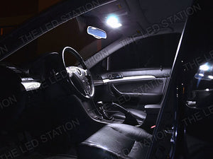 White LED Interior Dome / Map / Door / Trunk Light Kit - Acura TSX 04-08
