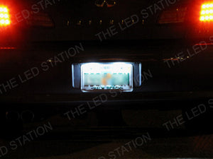 SMD White LED Dome Door Trunk License Plate Lights Kit Honda Accord 03-07