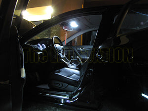 2009-2014 Acura TSX White LED Interior Light Kit (Dome Courtesy Trunk License Plate)